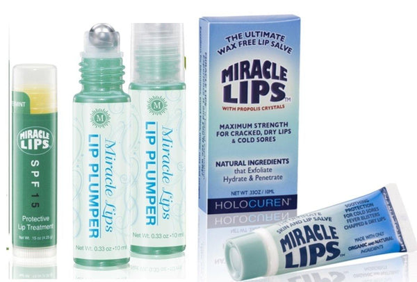 Miracle Lips Plumper, Salve for Problem lips & Sunscreen SPF 15