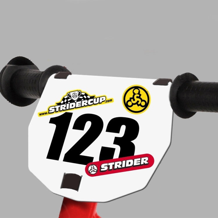 STRIDER® Numberplate Kit