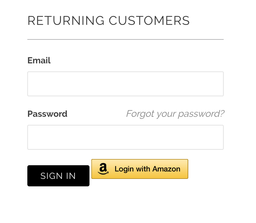 Need to adjust Login with Amazon Button placement - Shopify Community