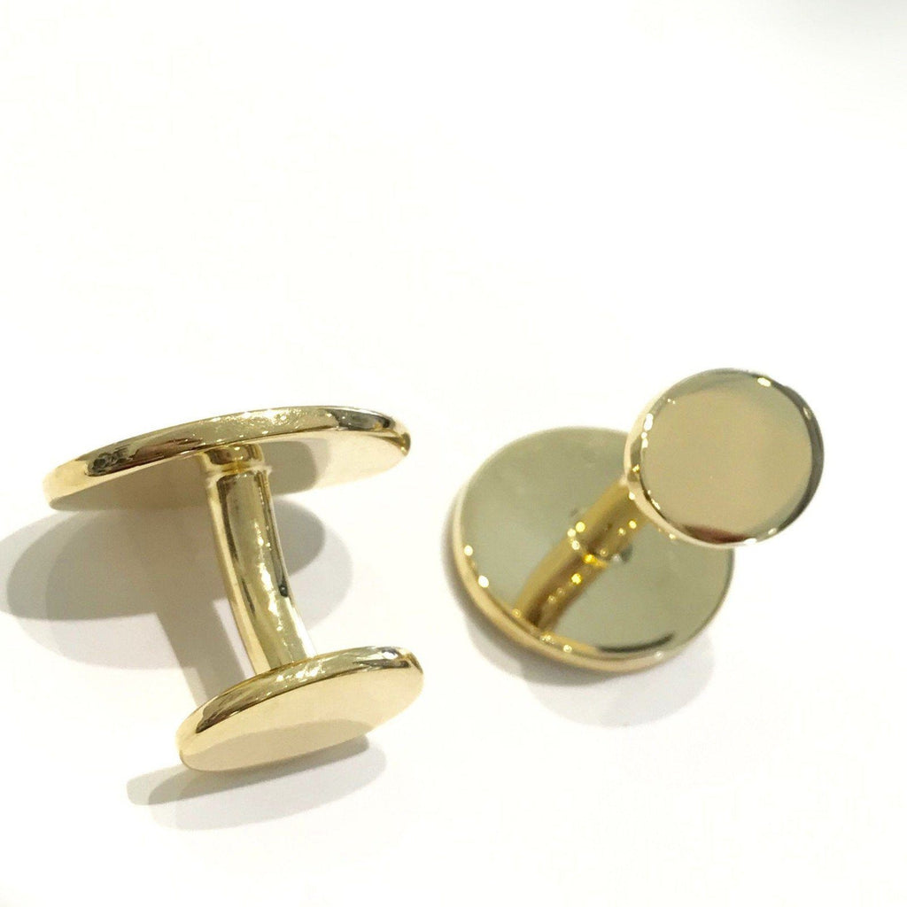 18 Karat Yellow Gold Tiffany & Co. Cufflinks Cufflinks Tiffany & Co.