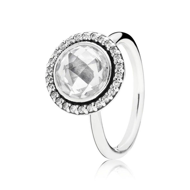 Pandora Brilliant Legacy Ring, Size 6 3/4