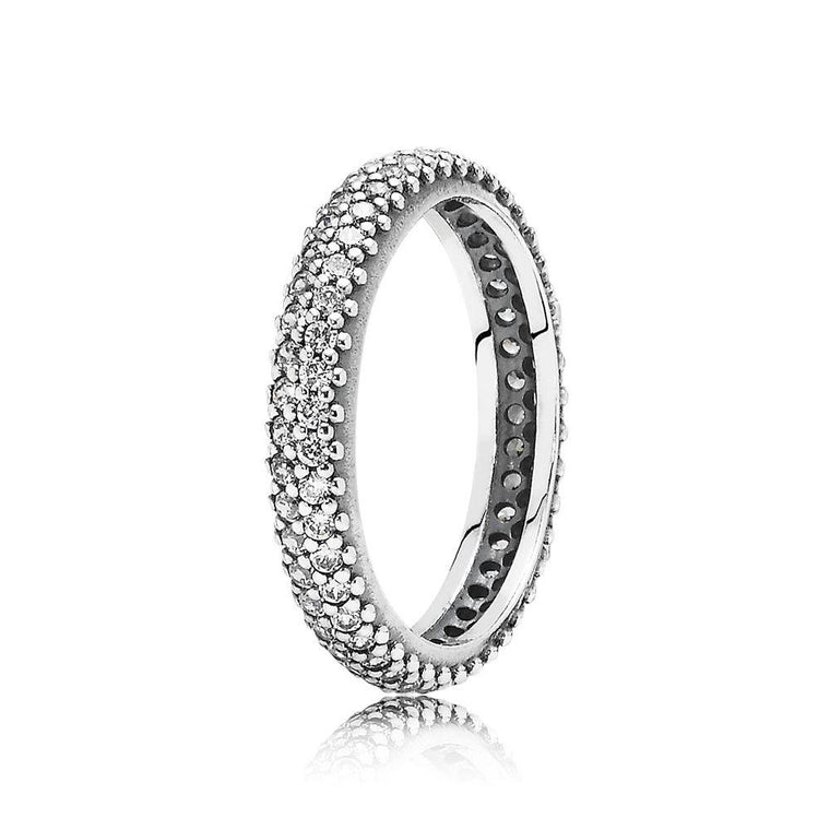 Pandora Inspiration Within Ring with Clear CZ, Size 6 3/4