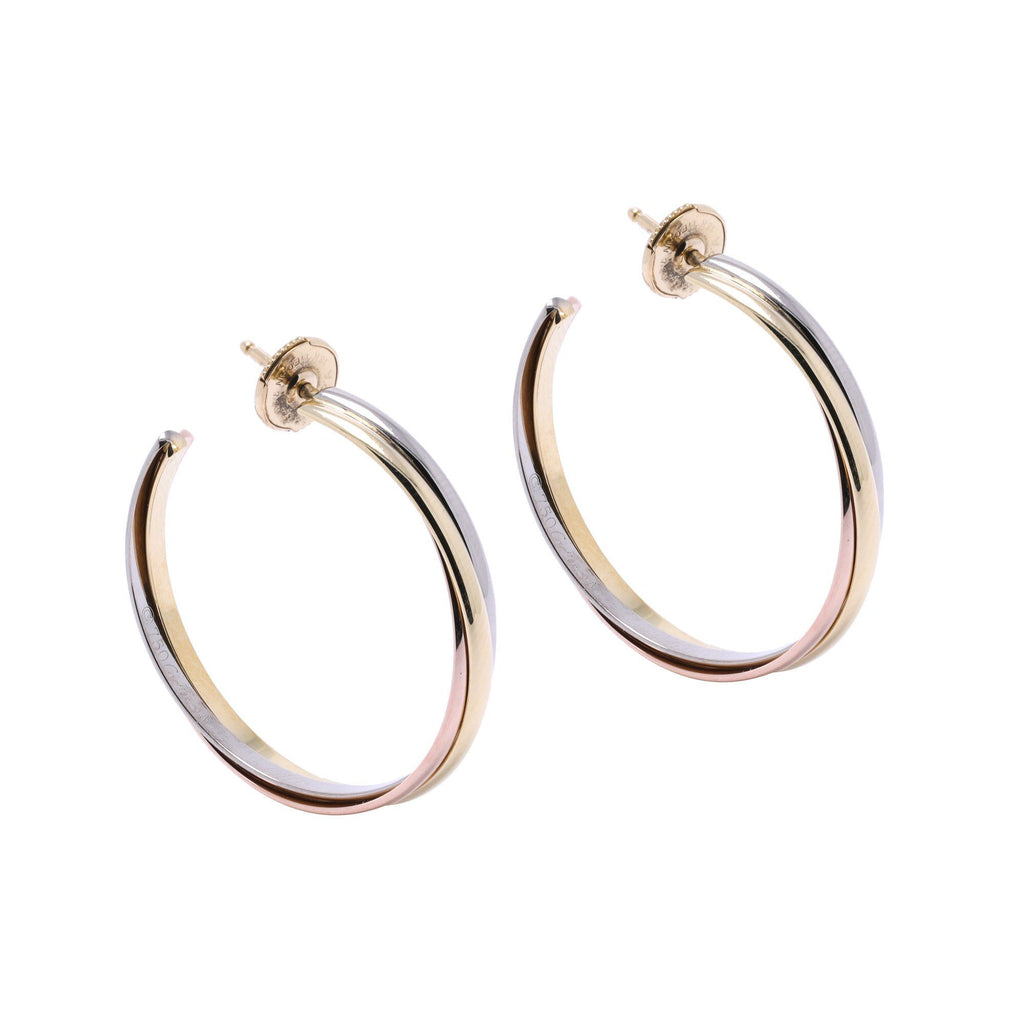 Cartier Trinity Hoop Earrings Earrings Cartier