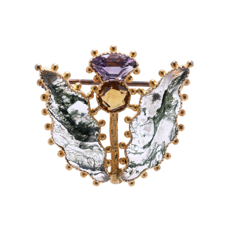 Antique Butterfly Brooch/Pendant