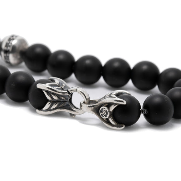 David Yurman Spiritual Beads Bracelet with Black Onyx & Black Diamonds