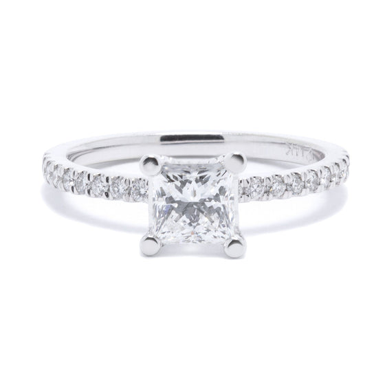 Princess Cut Diamond Engagement Ring Rings Miscellaneous