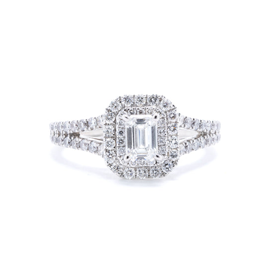 Vera Wang Diamond Engagement Ring