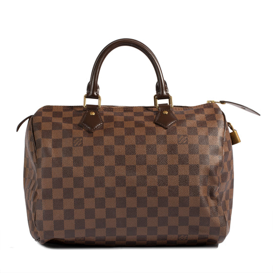 Louis Vuitton Damier Ebene Speedy 30 w/ Receipt & Box