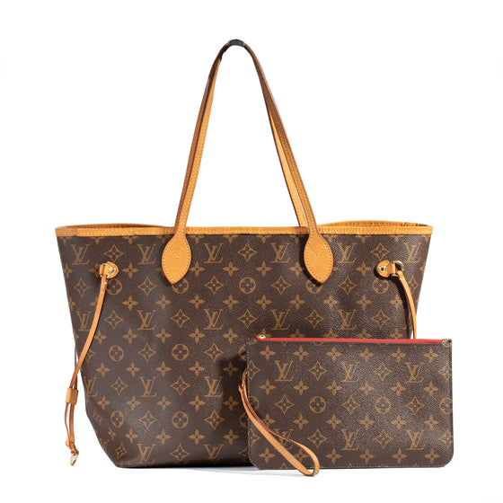 Louis Vuitton Monogram Neverfull MM with Pouch