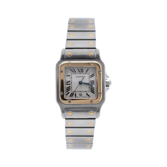 Cartier Two-Tone Santos Watch