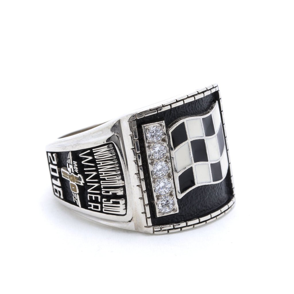 2016 Indy 500 Alexander Rossi Winners Ring Rings Miscellaneous