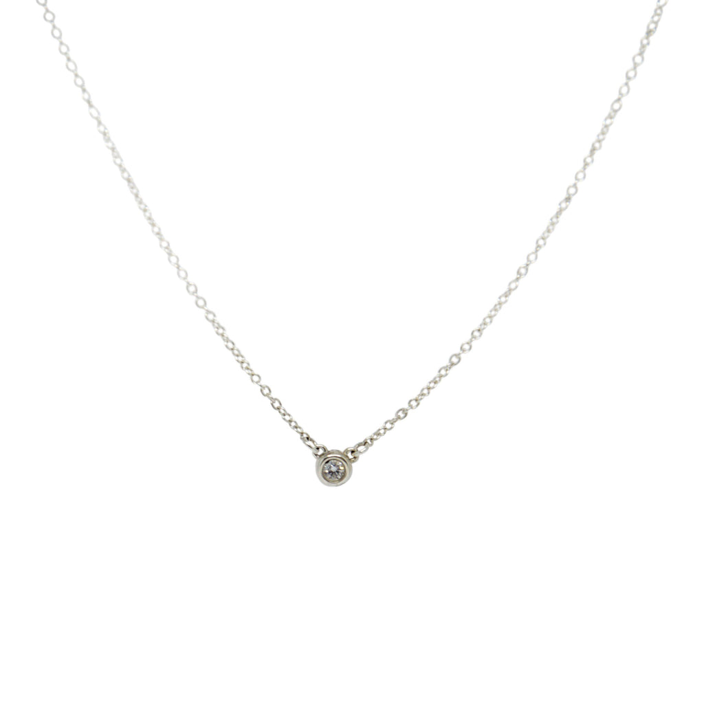 Tiffany & Co. Elsa Peretti Diamonds By The Yard Necklace - Necklaces
