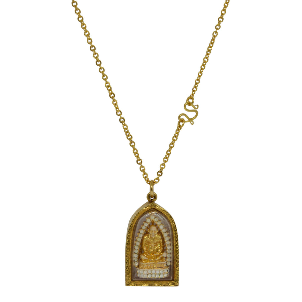 Thai Religious Idol Pendant Necklace Necklaces Miscellaneous