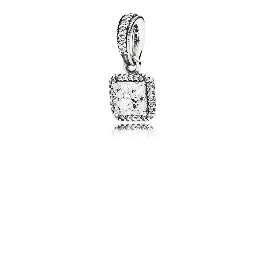 Pandora Timeless Elegance Pendant with Clear CZ