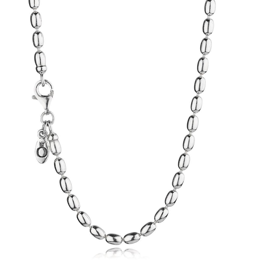 Pandora Ball Bead Chain Necklace 80 Cm Long - Necklaces