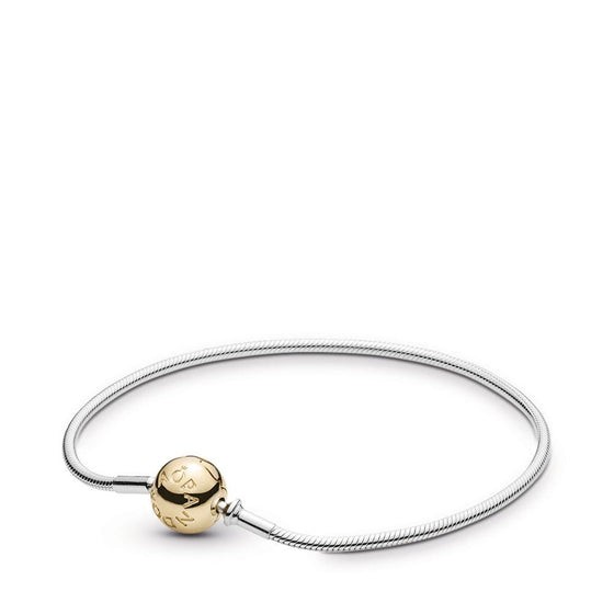 "Pandora Essence Collection Bracelet with 14k Gold Clasp 6.7""/17 cm Bracelets Pandora"