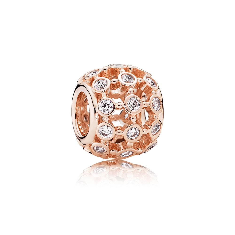 Pandora Rose In The Spotlight Charm with Clear CZ