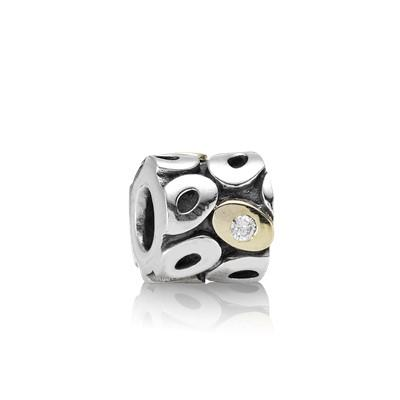 Pandora Two-Tone Oh My! Charm