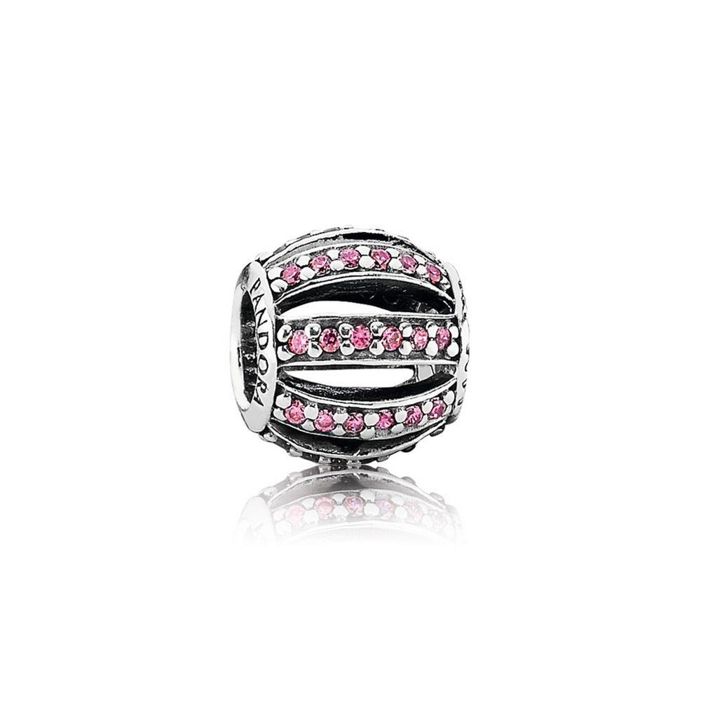 Pandora Leading Lady Charm with Pink CZ Charms & Pendants Pandora