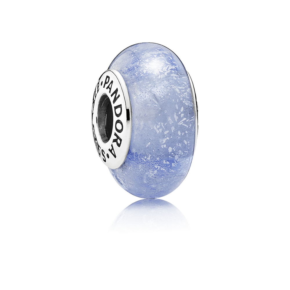 Pandora Disney, Cinderella's Signature Colour Murano Glass Charm Charms & Pendants Pandora