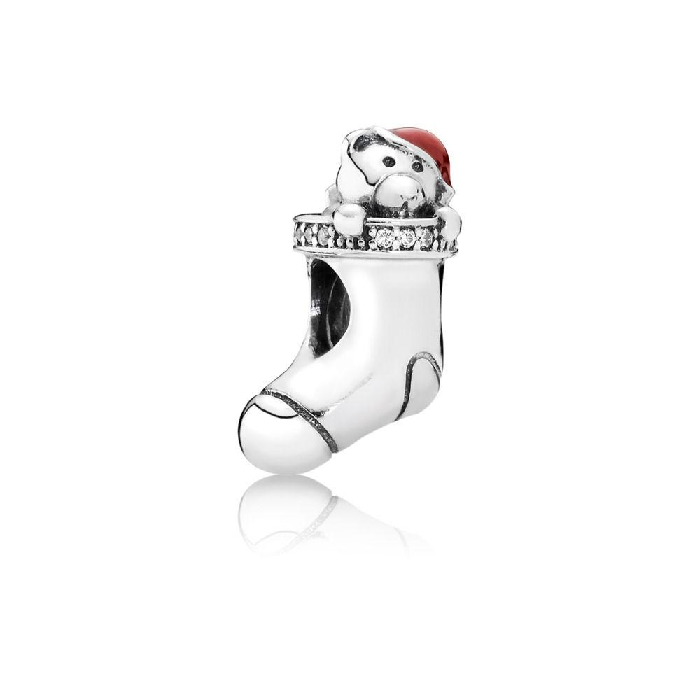Pandora Christmas Stocking Charm Charms & Pendants Pandora