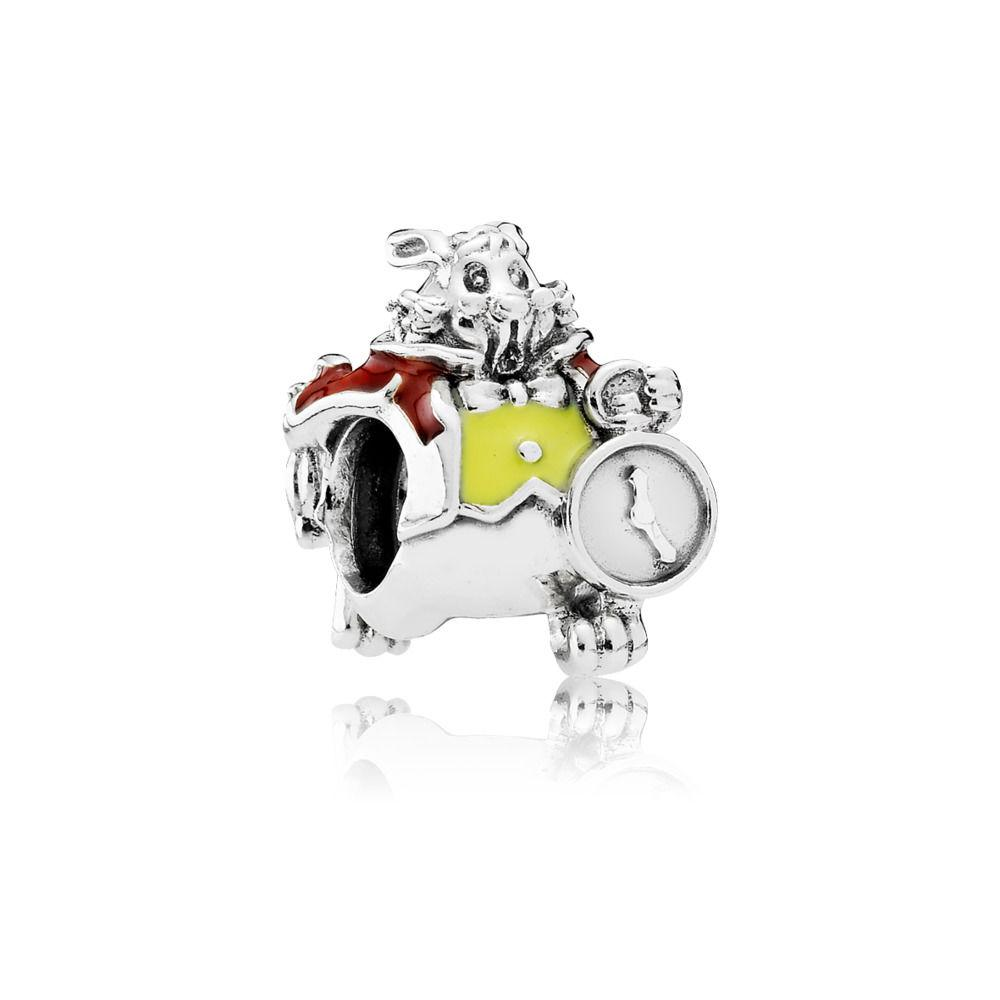 Pandora Disney White Rabbit Charm - Charms & Pendants