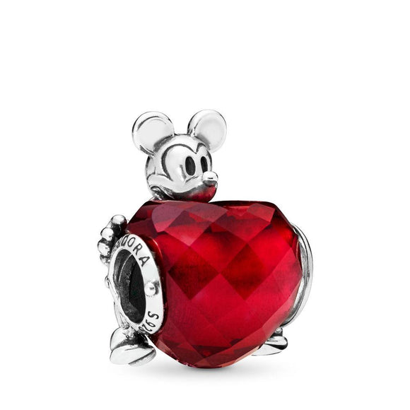 Pandora Disney, Mickey Love Heart Charm