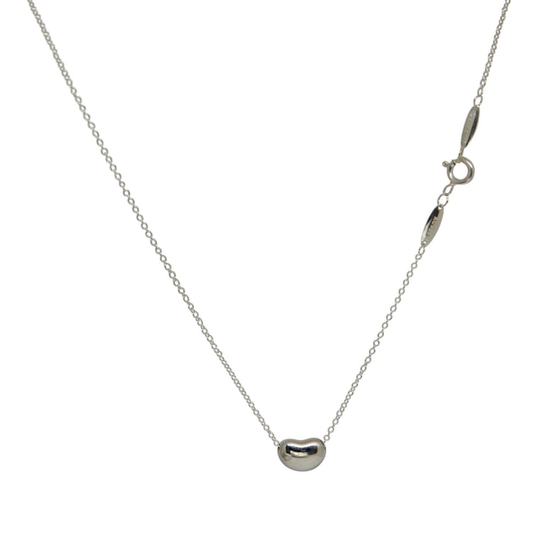 Tiffany & Co. Elsa Peretti Mini Bean Pendant Necklace