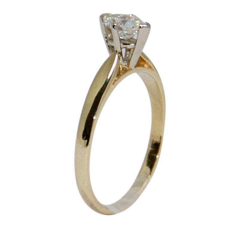 Solitaire Marquise Cut Diamond Engagement Ring Rings Miscellaneous