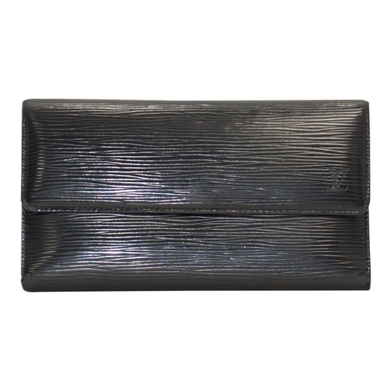 Louis Vuitton Black Epi International Wallet Wallets Louis Vuitton