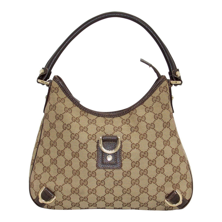Gucci GG Canvas Abbey Hobo