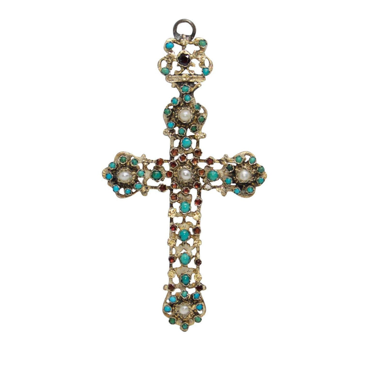 Antique Cross Pendant