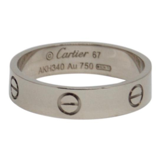 Cartier Love Ring Men's Jewellery Cartier