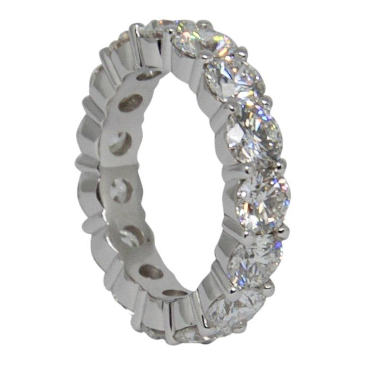 Gia Diamond Certified Eternity Band Ring - Rings