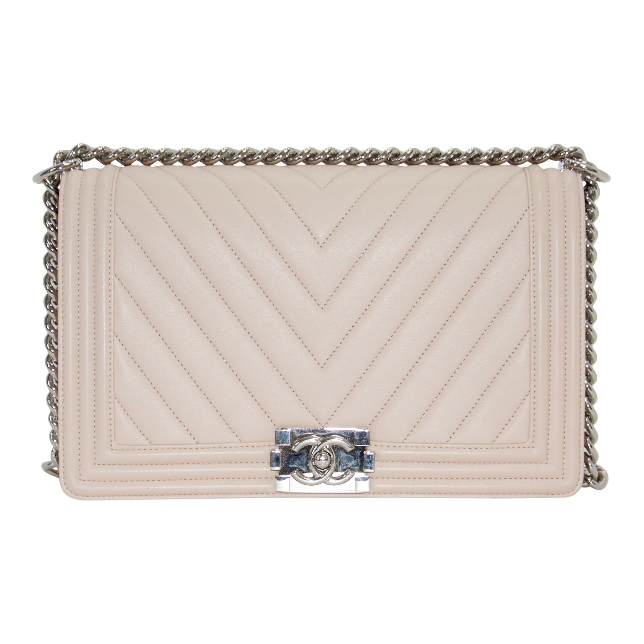 d51fc7207a80 Chanel Medium Plus Chevron Boy Bag– Oliver Jewellery