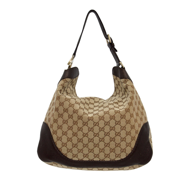 Gucci GG Canvas Charlotte Hobo