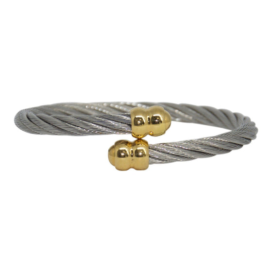 Charriol Two-Tone Celtic Cable Bracelet Bracelets Charriol