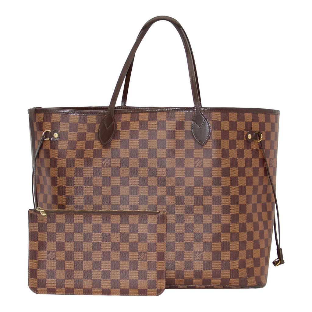 Louis Vuitton Damier Ebene Neverfull GM with Pouch