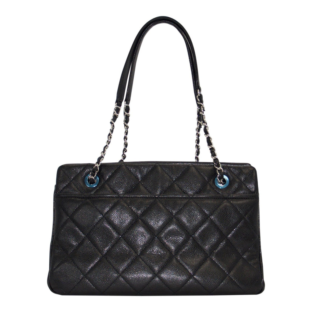Chanel Caviar Timeless Soft Shopper Tote - Bags