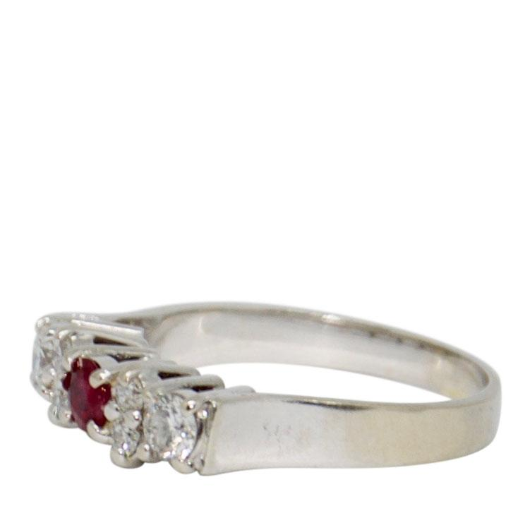 Ruby & Diamond Ring Rings Miscellaneous