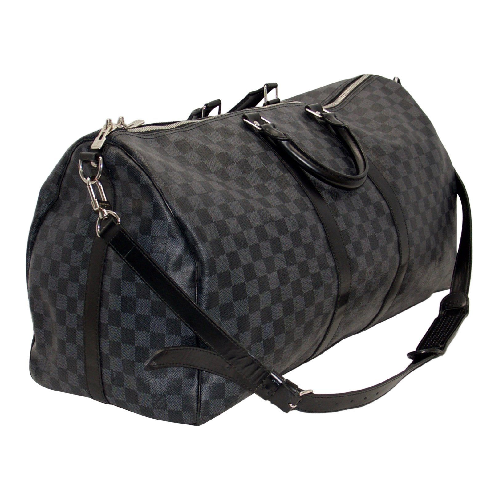 0a563d3d92f9 Louis Vuitton Damier Graphite Keepall Bandouliere 55 - Oliver Jewellery