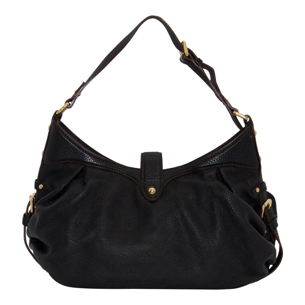 Louis Vuitton Black Mahina Xs Hobo - Bags