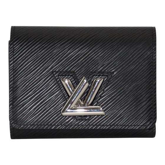 Louis Vuitton Black Epi Twist Compact Wallet Wallets Louis Vuitton