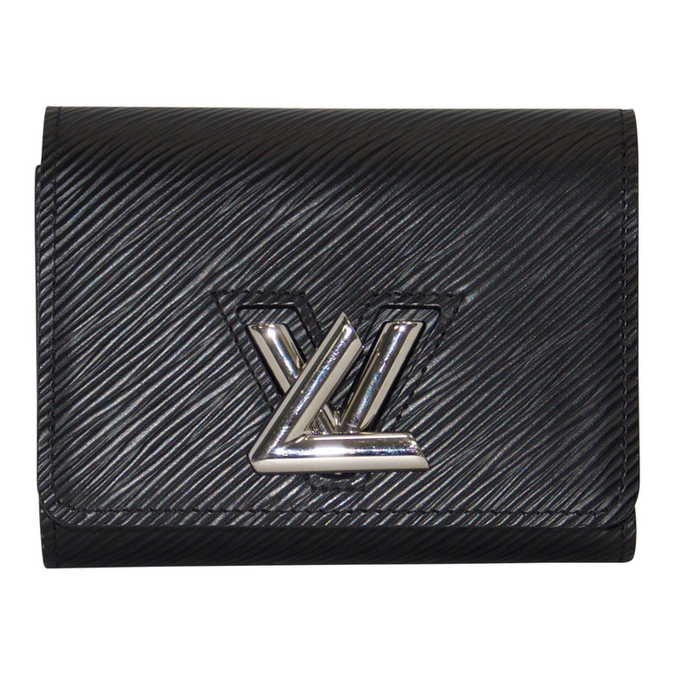 Louis Vuitton Black Epi Twist Compact Wallet