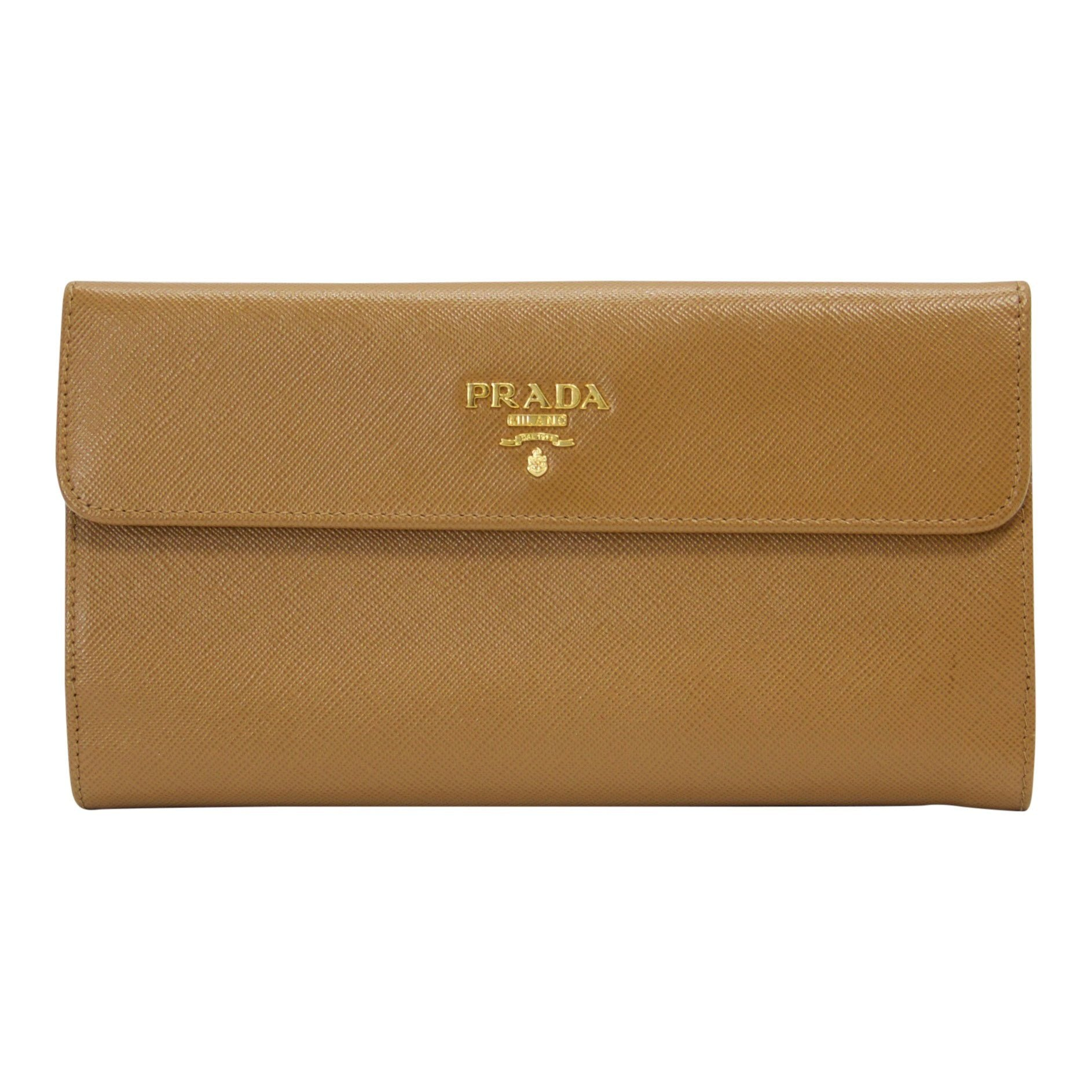 802672f95250 ... leather ribbon long wallet purse 8d50a dbd63  real prada saffiano  travel wallet e881b fb25f