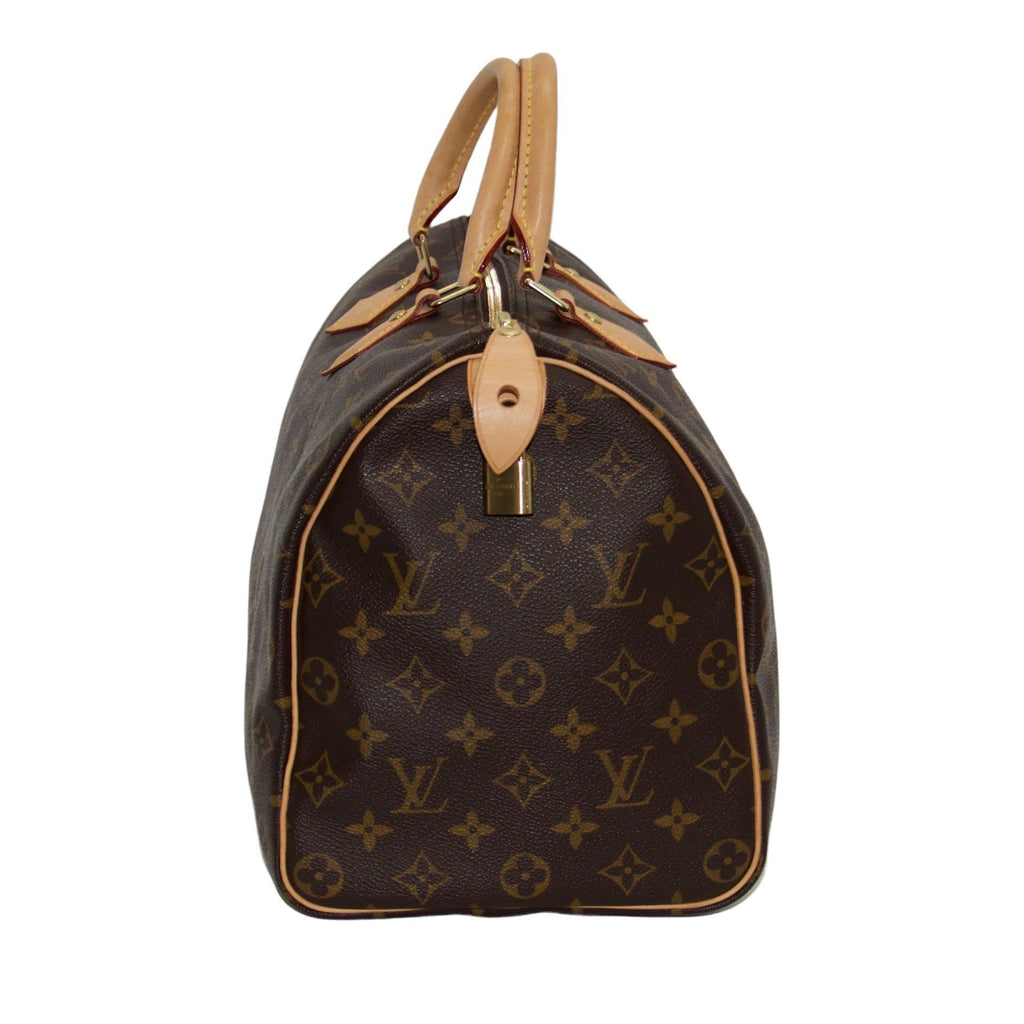 Louis Vuitton Monogram Speedy 35 Bags Louis Vuitton