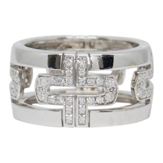 Bulgari Diamond Parentesi Ring Rings Bulgari