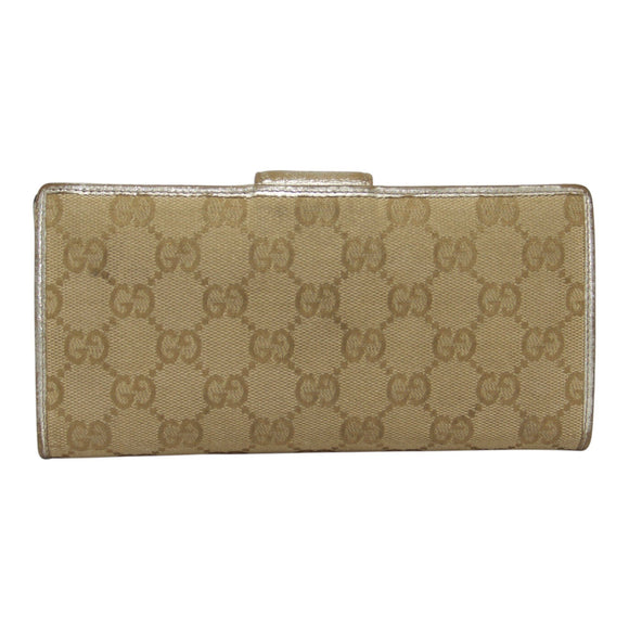 Gucci Gg Canvas Continental Wallet - Wallets