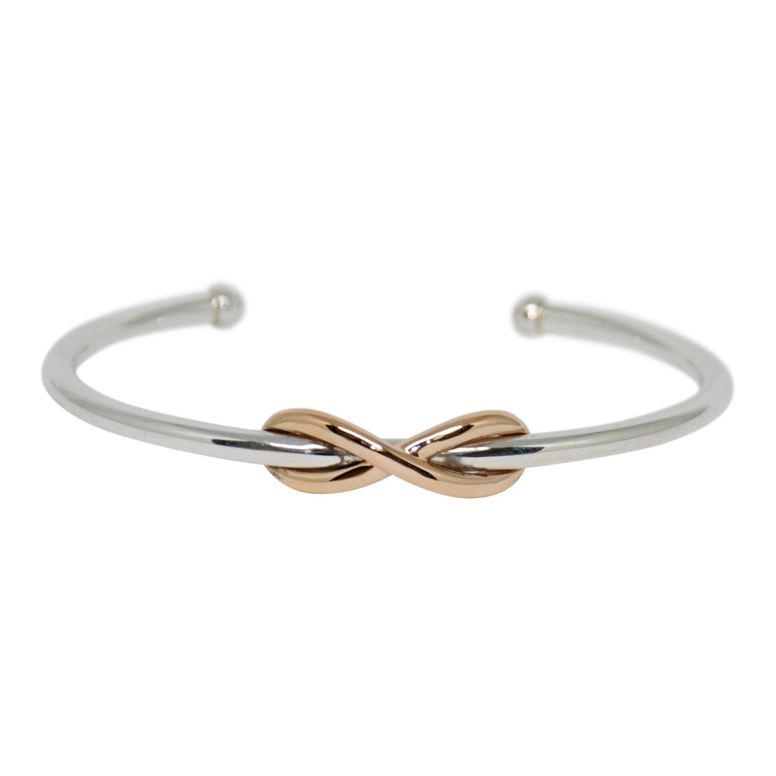 5d49610f1 Tiffany & Co. Two-Tone Infinity Cuff Bracelet– Oliver Jewellery