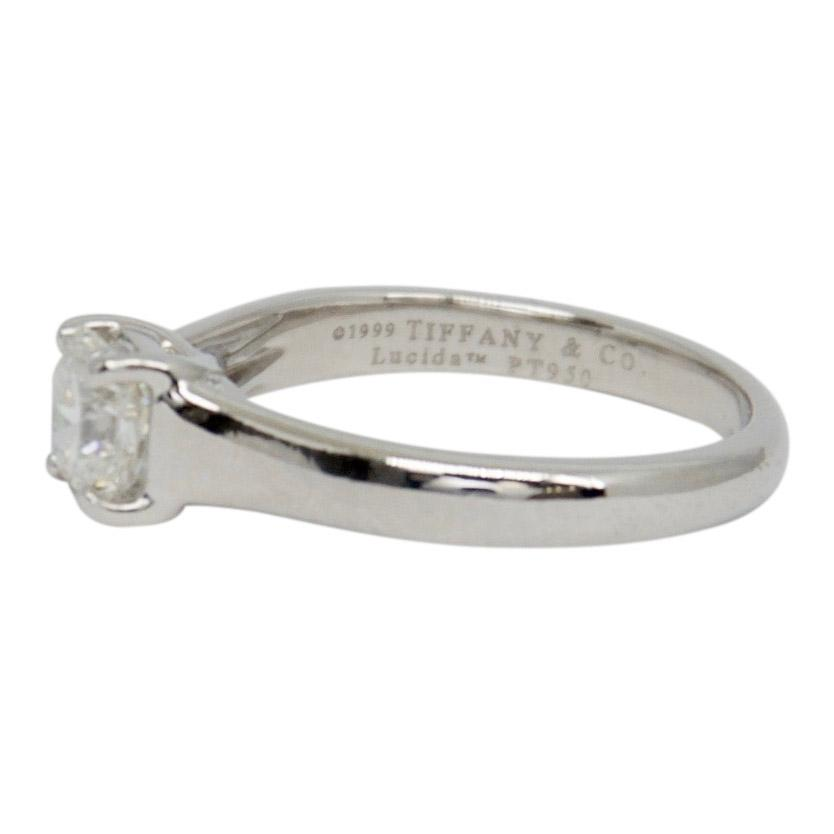 Tiffany & Co. Lucida Cut Diamond Solitaire Engagement Ring Rings Tiffany & Co.